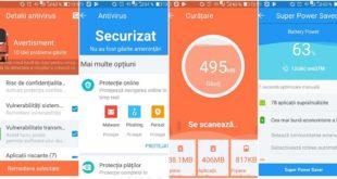 360 Security, aplicație antivirus gratis pentru telefon sau tableta Android.