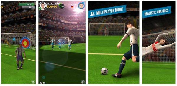 Flick Shoot 2, jocuri de tras la poartă Android.