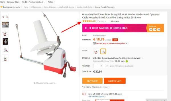 Cum cumpăr pe Aliexpress