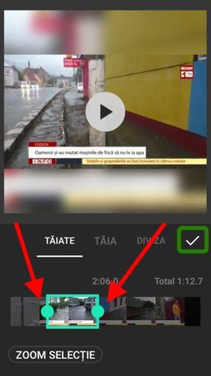 Cea mai bună aplicație de tăiat video Android