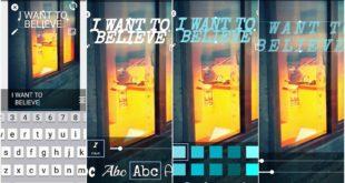 Aplicații de scris pe poze gratis pentru telefoane și tablete Android