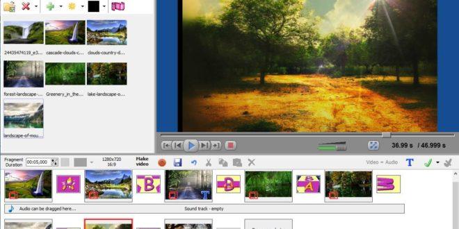 Cum se face un video cu poze și muzică cu programul Free Bolide Slideshow Creator