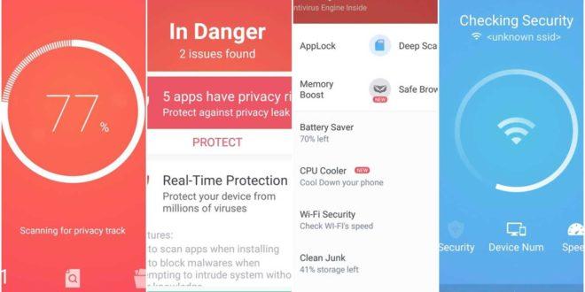 GO security, cel mai bun antivirus gratuit Android
