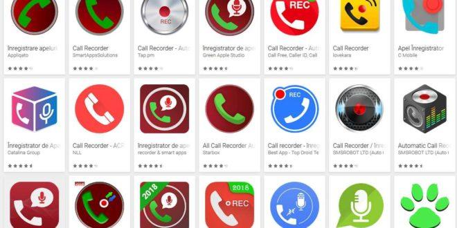 Top aplicații înregistrare apeluri pe telefon Android