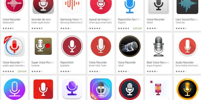 inregistrare voce android