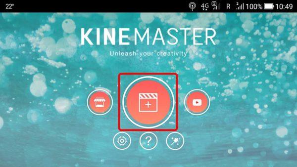 Kinemaster, aplicatie de editat video android