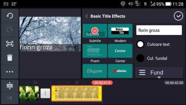 Kinemaster, o aplicație gratuită de modificat video pentru telefoane Android.