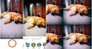 retrica, aplicație pentru poze și selfie