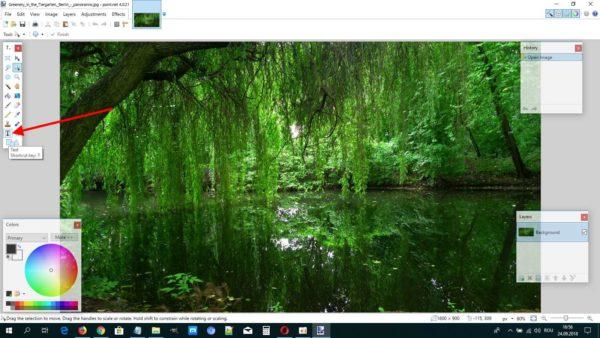 Paint.NET, un program de scris pe poze ușor de folosit
