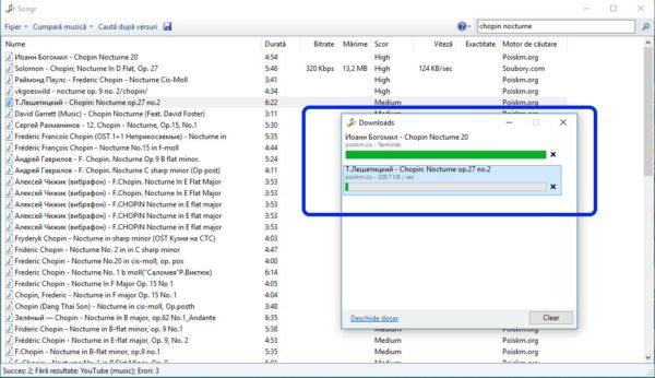 Cum se descarcă muzică MP3 gratis și repede cu Songr