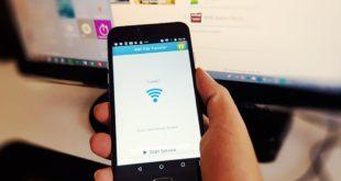 Transfer fișiere mari prin wi-fi direct de pe telefon pe PC.